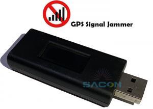 China USB Disk LED Display 15m GPS Signal Jammer on sale