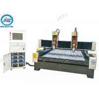 China Dual Spindles C​NC Router Machine , 3D CNC Stone Carving Machine for Stone Carving on sale