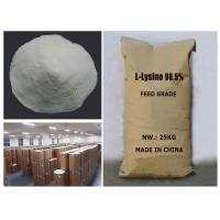 Feed Grade 98.5% L-Lysine made in china with good price on sale Manufactures