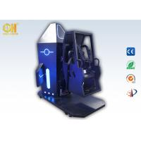 3m² 720 Space Flip VR Simulator Games Gold Hunter Space Chair Black & Blue Color Manufactures