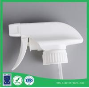 China clean bottle head in white color 28/400 spray head spray gun head pump head on sale