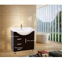 75 Inch Black Or White Freestanding Bathroom Vanity With 4 Legs And Thin Top Manufactures