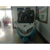 China 1670mm 3 Whee Electric Passenger Car 3 Seater Electric Car 48V / 60V 50A wholesale