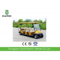 Battery Powered Electric Road Legal Golf Cart For 7-8 Person Adults 1 Year Warranty Manufactures