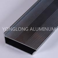 Strong Hardness Aluminium Profile For Glass Doors Rectangle Shape Manufactures