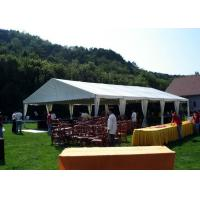 Waterproof Outdoor Aluminum Frame Tent 3 M Bay Distance For Family Party Manufactures