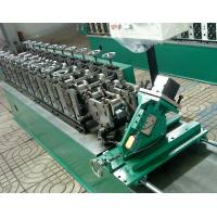 Hydraulic Cutting Carbon Steel C Purlin Forming Machine Germany Siemens Plc Manufactures
