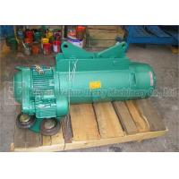 Traveling 10 Ton Electric Wire Rope Hoist , High Speed Lightweight Electric Hoist Manufactures