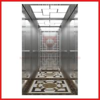 Small Home Low Noise High Speed Elevator For 5 Persons , Stainless Steel Door Design Manufactures
