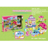 Fire Station Building Blocks Educational Toys W / Functions For Age 3 Years Kids 49Pcs Manufactures