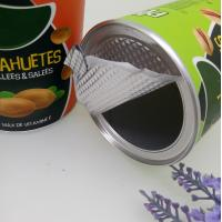 China Easy Open Kraft Paper Cans For Peanut / Cashew Nuts / Pistachios on sale