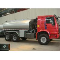 6×6 Full Drive Howo Chemical Tanker Truck For Hydrochloric Acid Transport Manufactures