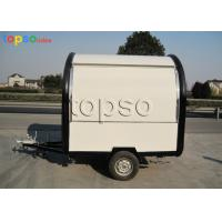 Fire Resistant Mobile Food Trailer / Mobile Restaurant Trailer Customized Dimensions Manufactures