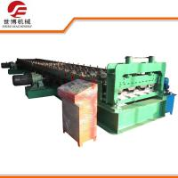 China High Speed Floor Tiles Making Machine For 0. 8 - 1. 2 Mm Floor Deck Producing on sale