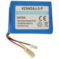 Li-ion Rechargeable Battery, 423443AJ-3-P 3.7V Voltage, 700mAh Capacity Manufactures