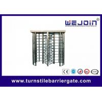 304 stainless steel Automatic Full Height Turnstile Electronic Security Gate Manufactures