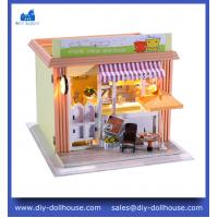 China Dollhouse Miniature Model Toy House Gift Educational Toy Craft Miniature C005 on sale
