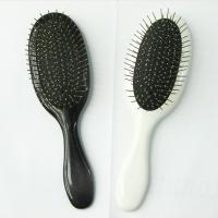 Iron Pin Ionic Styling Salon Hair Comb Brush with ABS + Spray Printing Handle Manufactures
