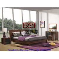 2016 New Nordic Design Modern Bedroom Furniture King size bed with Mirror Dresser and Side table Manufactures