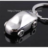 Cheap metal car drop pendant keychains, small quantity wholesale car charm fob key rings, Manufactures