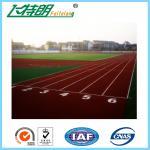 SGS Permeable 13MM Running Track Flooring Sport Stadium Playground Floor Manufactures
