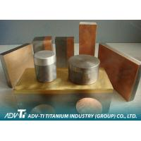 Quality Round / Square Clad Metal Sheet Titanium Clad Copper for Industry Using for sale