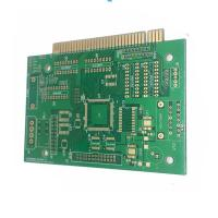 Multilayer Printed Circuit Board HDI Pcb With Gold Finger , Rigid PCB Manufactures