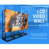 3810x2160 HD 4K Lcd Wall Display Screen 65'' Large Format Seamless 3x3 OLED TV Monitor Manufactures
