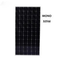 Cheap Price High Quality High Efficiency 325W Mono Solar Panel Applied in Roof or Ground Mounting Solar Energy System Manufactures