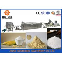 Top quality stainless steel modified starch machine Manufactures