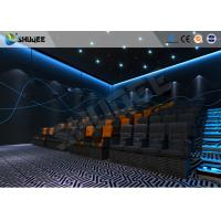 ISO Certificate 4D Dynamic Cinema Equipment With Pneumatic Customize Motion Chairs Manufactures