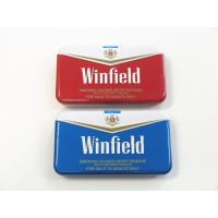 Winfield Quality Cigarette Tin Can Metal Cigarette Case Cigarette Case With Lighter Manufactures