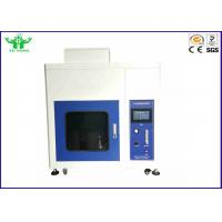 Plastic Horizontal And Vertical Flame Test Chamber Touch Screen IEC60950-11-10 Manufactures