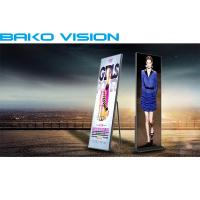 Indoor Advertising Front Service LED Display P2.5mm Full Color Standing Screen Manufactures