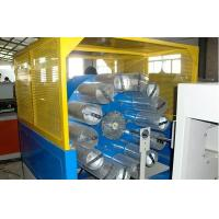 China Double Screw Plastic Pvc Pipe Manufacturing Machine For Fiber Reinforced Hose on sale