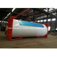 20ft Mobile LPG Gas Tank Container Gas Filling Station 20000L With Filling Dispenser Manufactures
