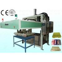 Semi Automatic Pulp Tray Machine , Eco Paper Moulding Pulp Egg Tray Forming Machine Manufactures