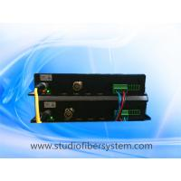 HDSDI fiber converter with tandem full duplex RS422 for Sony EVI D70P cameras in video conference system Manufactures
