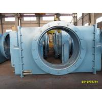 Hot And Cold Air Desulphurization Baffle Damper / Isolation Adjustment Door Manufactures