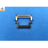 One Row 0.5mm Pitch Lvds Display Connector Type With Stainessless Shell Manufactures