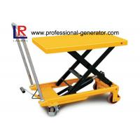 High Capacity Warehouse Material Handling Equipment Electric Hydraulic Scissor Lift Table Manufactures