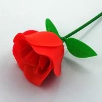 Customized FDA Aromatic Rubber Artificial Flowers Rose For Valentines Day Manufactures
