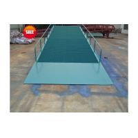 15 ton mobile hydraulic forklift container ramp for forklift loading ramp lift Manufactures