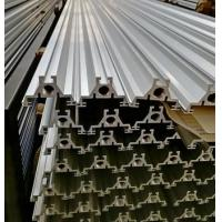 Silver anodized 6063 T6 extrusion aluminum for agricultural machinery t slot framing Manufactures