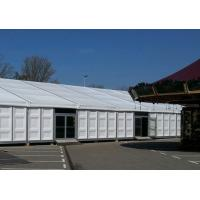 China 15m X 30m Heavy Duty Outdoor Tents Waterproof ABS Wall With Glass Door wholesale
