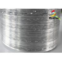 Ventilation Flexible Aluminum Duct Pipe Single Layer Flame Resistance Manufactures