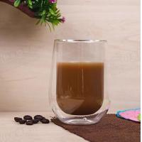 China High Quality 200ml Wholesale Europe Style Double Wall Glass Coffee Cup Mug Tea Cup Glassware on sale