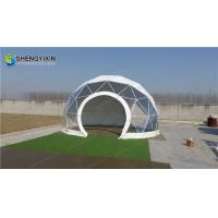 cheap 6m small dome house geodesic dome home camping glamping tent Manufactures