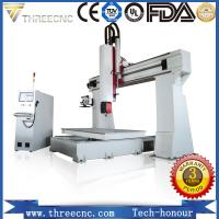 China Professional 5 axis wood design cnc machine price for 3D products TM6090-5axis. threecnc on sale