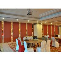 Office  Aluminum Sliding Doors Operable Wall For Banquet Wedding Facility